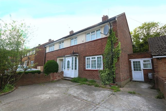 Thumbnail Semi-detached house for sale in Queensmere, Benfleet