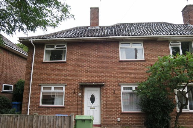 Thumbnail Terraced house to rent in Buckingham Road, Norwich