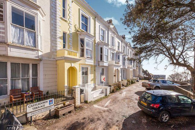 Thumbnail Flat to rent in Castledown Terrace, Hastings
