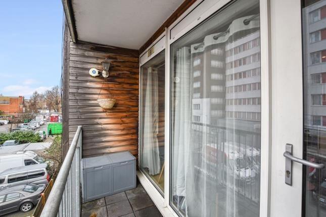 Balcony of 331 Romford Road, London, England E7