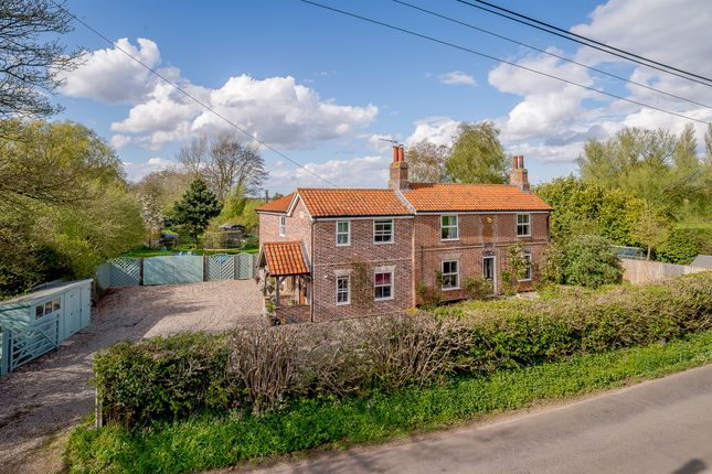 Thumbnail Detached house for sale in Low Road, Thurlton, Norwich