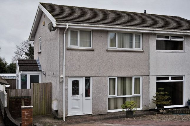 Thumbnail Semi-detached house for sale in Clifton Court, Treboeth
