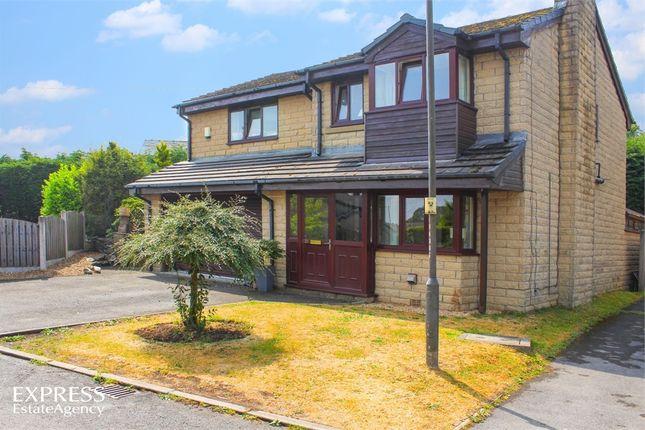 Thumbnail Detached house for sale in Horseshoe Avenue, Dove Holes, Buxton, Derbyshire