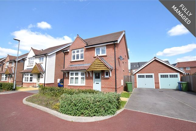 Thumbnail Detached house to rent in Bunting Lane, Bracknell, Berkshire