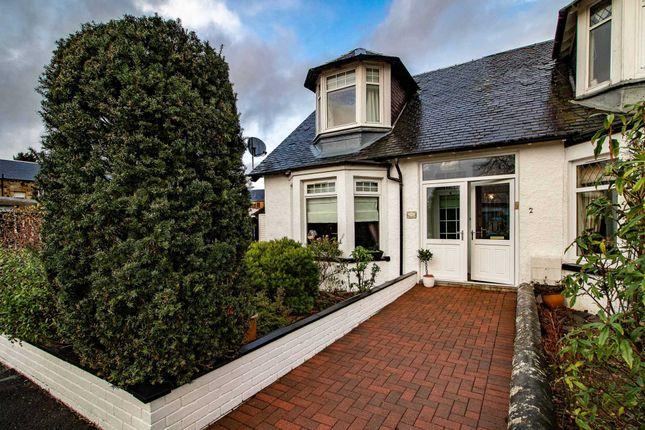 Thumbnail End terrace house for sale in Harvey Cottages, Muirhead Street, Lochwinnoch