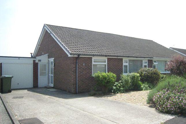 Thumbnail Semi-detached bungalow to rent in Frosthole Crescent, Fareham