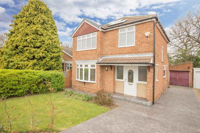 Thumbnail Detached house for sale in Firtree Avenue, Normanby, Middlesbrough