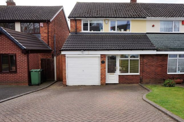 Thumbnail Semi-detached house for sale in Elmbridge Close, Halesowen