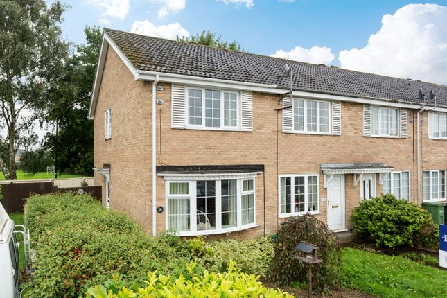 Thumbnail End terrace house for sale in Ryemoor Road, Haxby, York