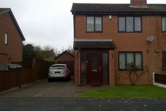 Thumbnail Semi-detached house to rent in Whitehouse Road, Ruskington