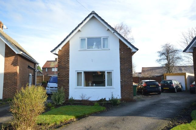 Thumbnail Detached house for sale in Woodhall Close, Overton, Wakefield