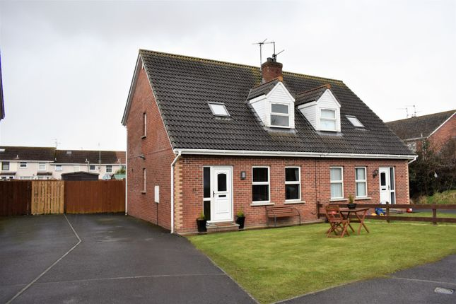 Thumbnail Semi-detached house for sale in Willowfield Crescent, Craigavon