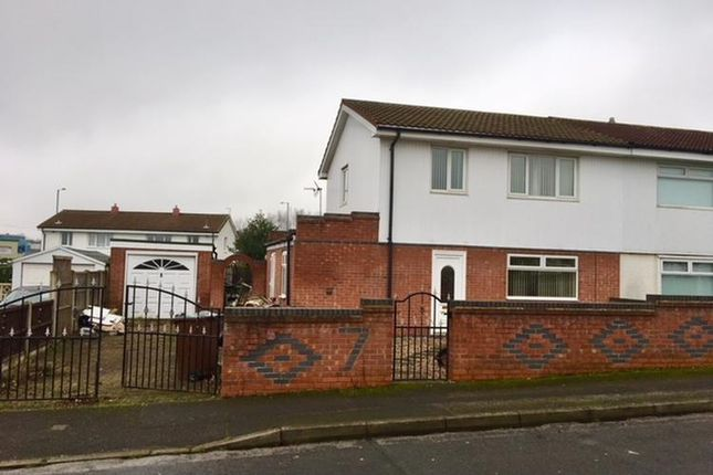 Thumbnail Semi-detached house to rent in Staverton Road, Nottingham