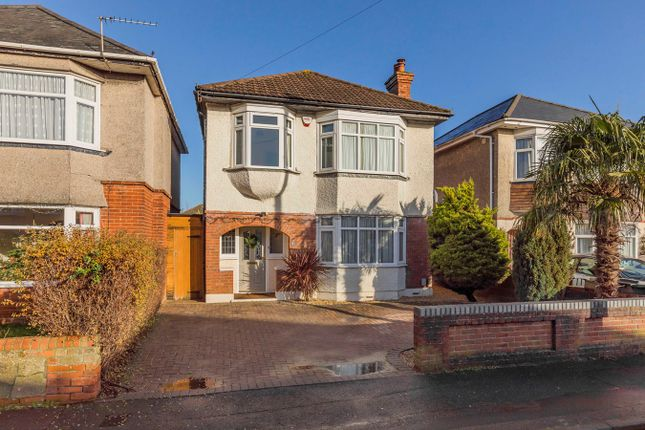Thumbnail Detached house for sale in Victoria Park Road, Bournemouth