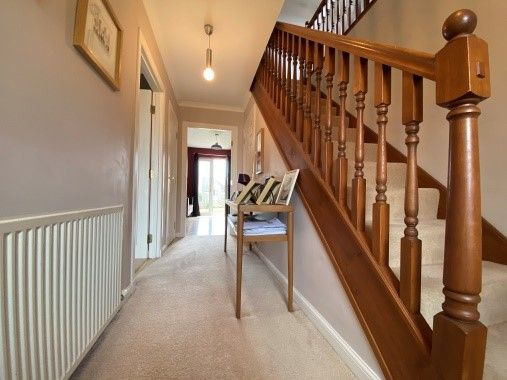 Hallway of Balmossie Road, Broughty Ferry, Dundee DD5
