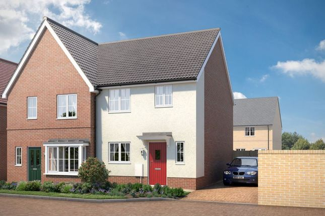 "Thumbnail Property for sale in ""The Leigh"" at Yarrow Walk, Red Lodge, Bury St. Edmunds"