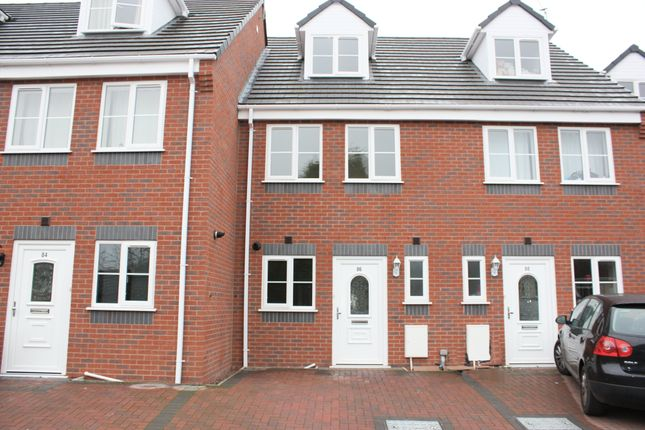 Thumbnail Terraced house to rent in Parkes Hall, Sedgeley, Dudley