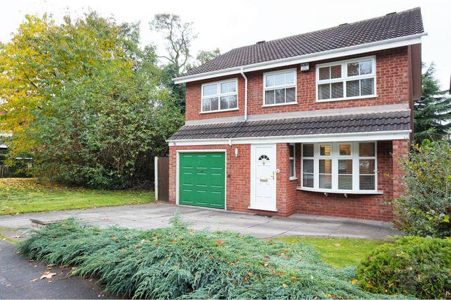 Thumbnail Detached house for sale in Gainsborough Drive, Perton, Wolverhampton