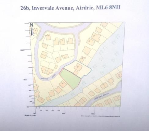 Thumbnail Land for sale in Invervale Avenue, Airdrie, North Lanarkshire