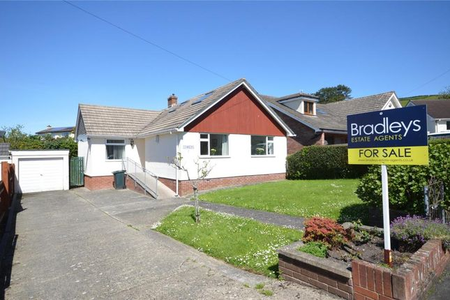 Thumbnail Detached bungalow for sale in Coombe Close, Bovey Tracey, Newton Abbot, Devon