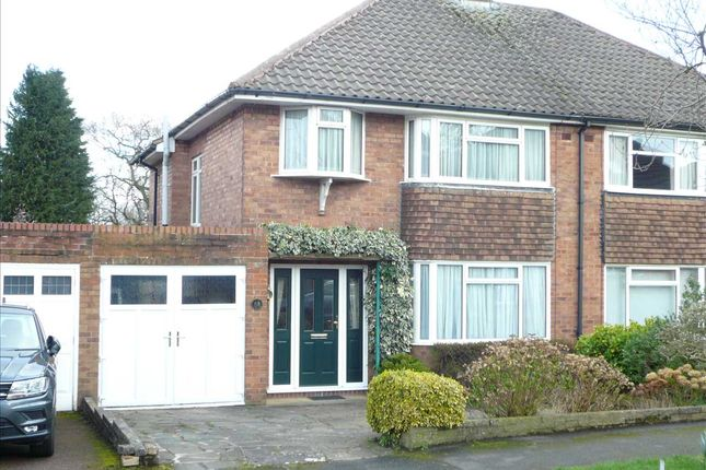 Thumbnail Semi-detached house for sale in Mason Crescent, Penn, Wolverhampton