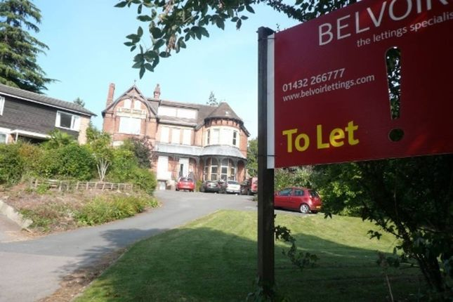 Thumbnail Flat to rent in Bodenham Road, Hereford