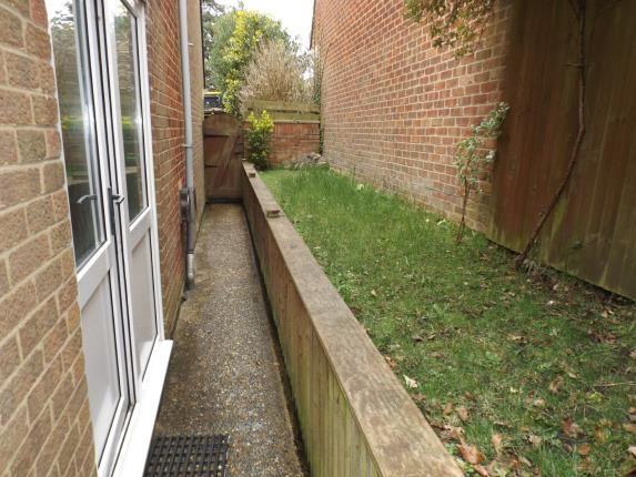 Side Garden of Dibden Purlieu, Southampton, Hampshire SO45