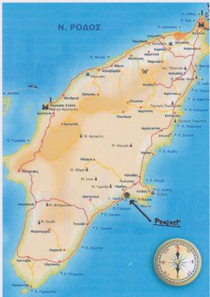 Thumbnail Land for sale in Lardos Rhodes Project, Lardos, Rhodes Islands, South Aegean, Greece