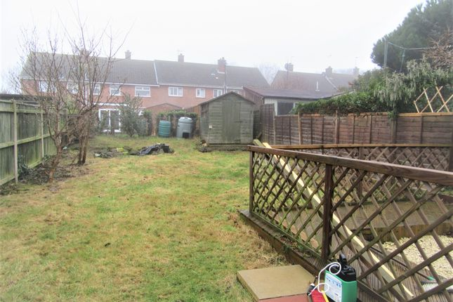 Rear Garden of Mimosa Walk, Lowestoft NR32