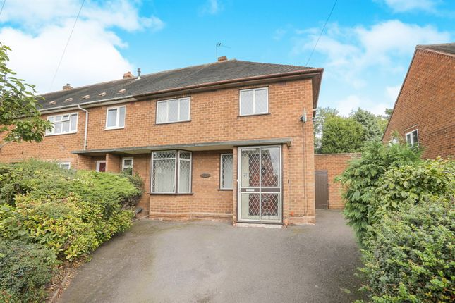 3 bed end terrace house for sale in Derby Avenue, Claregate, Wolverhampton