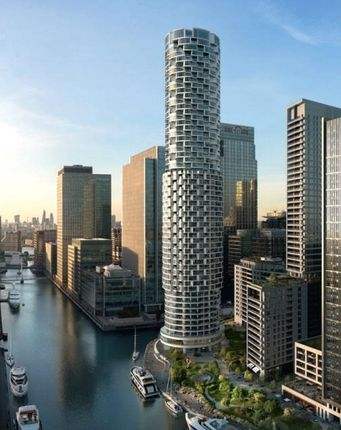 Thumbnail Property for sale in One Park Drive, Canary Wharf, London