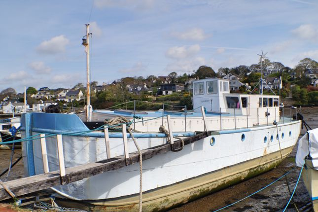 Thumbnail Houseboat for sale in Mylor Creek Boatyard, Mylor Bridge, Falmouth