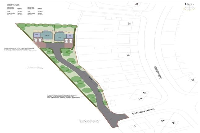 Land for sale in Carson Road, Tunstall, Stoke-On-Trent