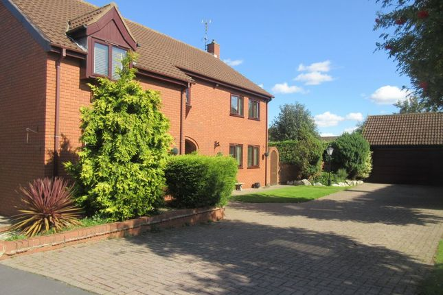 Thumbnail Detached house for sale in Wetherby Close, Queniborough