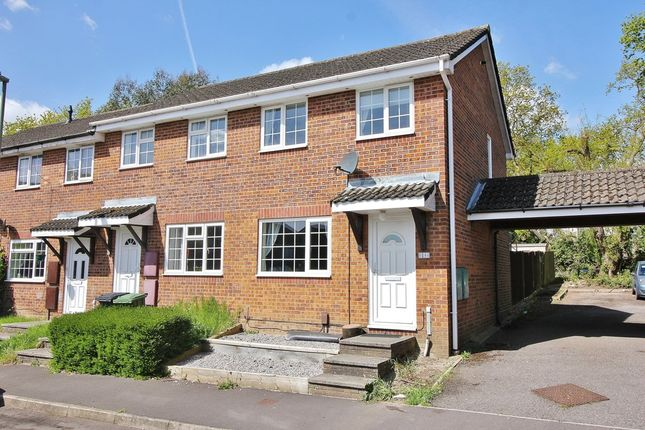 Thumbnail End terrace house for sale in Stirling Crescent, Hedge End, Southampton
