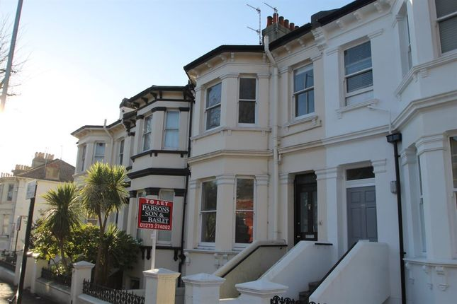 Thumbnail Flat to rent in Sackville Road, Hove