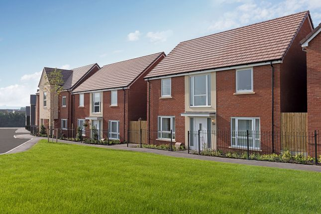 "Thumbnail Detached house for sale in ""The Bradenstoke"" at Amesbury Road, Longhedge, Salisbury"