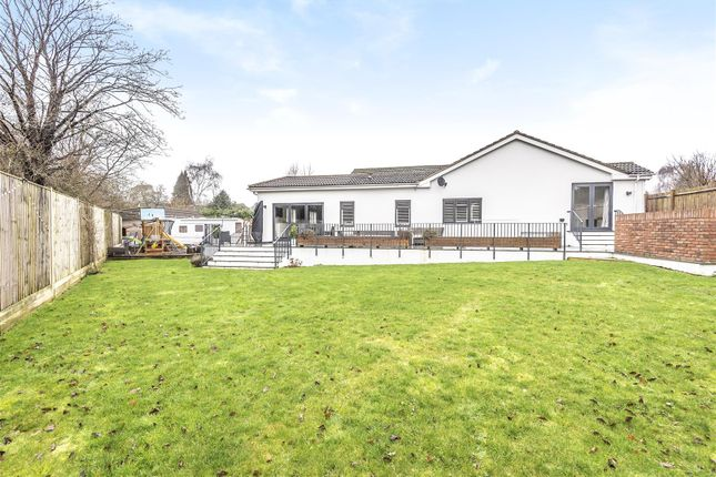 Thumbnail Detached bungalow for sale in Castle Close, Bramber, Steyning