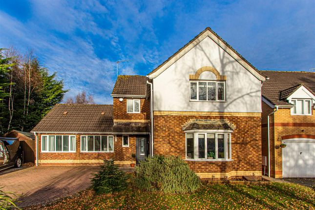 Thumbnail Detached house for sale in William Nicholls Drive, Old St. Mellons, Cardiff