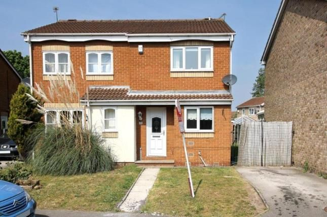 Thumbnail Semi-detached house for sale in Meadow Croft, Edenthorpe, Doncaster