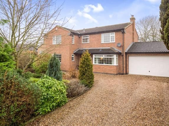 Thumbnail Detached house for sale in Tollerton Lane, Tollerton, Nottingham