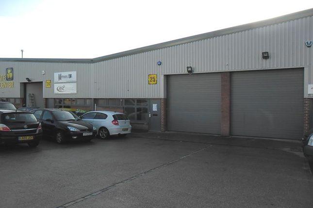 Thumbnail Light industrial to let in Unit 25 Bourne Industrial Park, Bourne Road, Crayford, Dartford, Kent