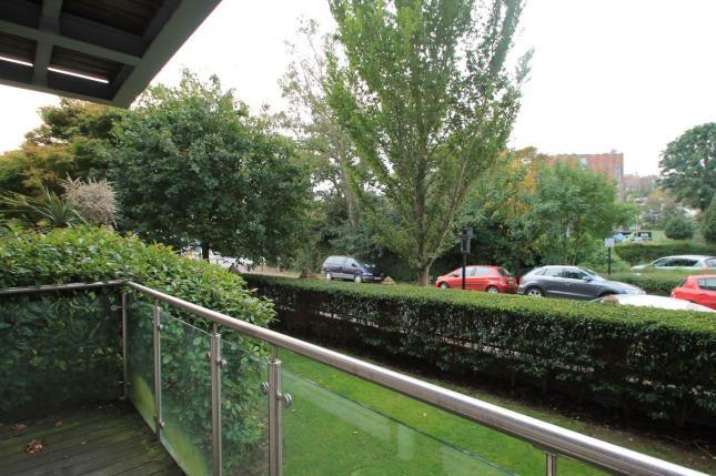 Balcony of Preston Mansions, Preston Park Avenue, Brighton, East Sussex BN1