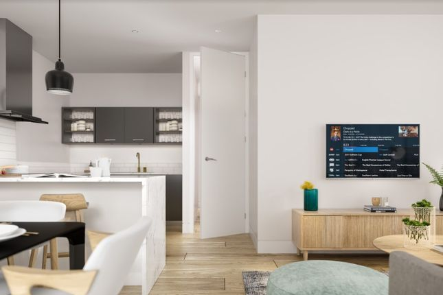 3 bed flat for sale in 9 Michigan Ave, Manchester M50