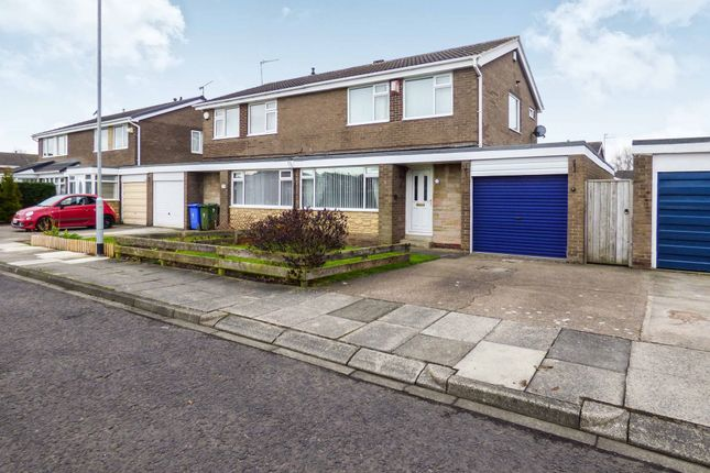 Thumbnail Semi-detached house for sale in Whitburn Place, Cramlington