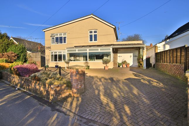 Thumbnail Detached house for sale in Church Lane, Coedkernew, Newport