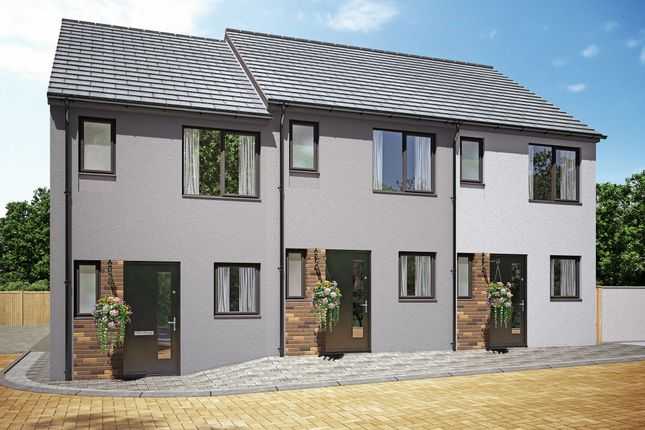 """Thumbnail Terraced house for sale in """"The Elowyn 1"""" at Kerrier Way, Camborne"""