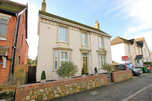 Thumbnail Detached house for sale in Seabrook Road, Hythe