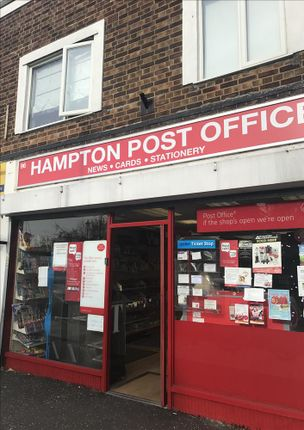 Thumbnail Retail premises for sale in Station Road, Hampton