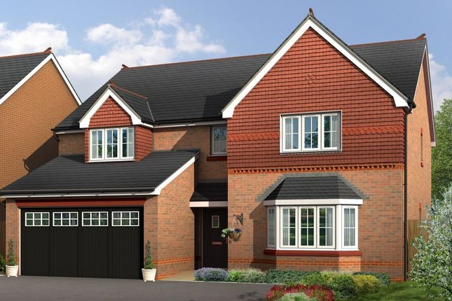 "Thumbnail Detached house for sale in ""Lincoln"" at Boundary Park, Parkgate, Neston"